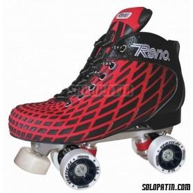 Pattini Hockey Reno Microtec Rosso R1 Vertical