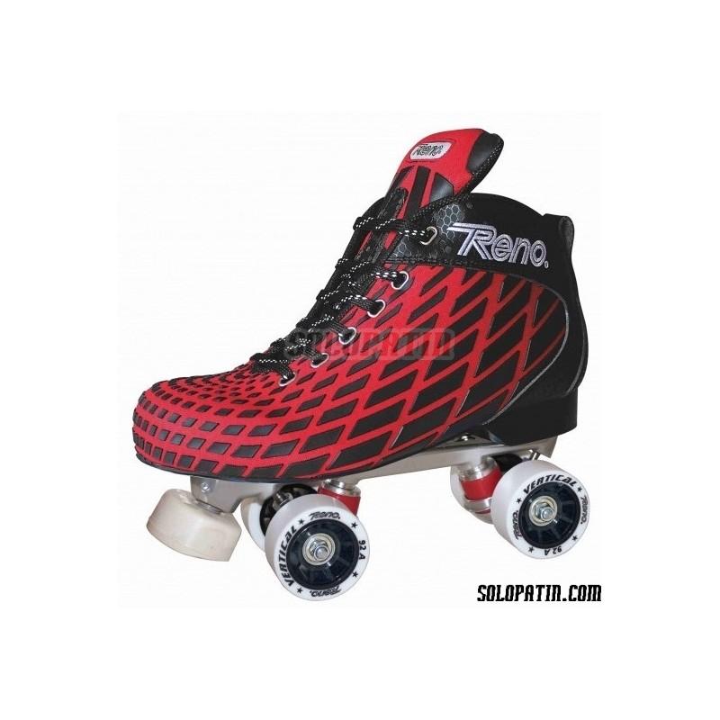 Conjunto Hockey Reno Microtec Rojo R1 Vertical