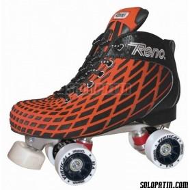 Pattini Hockey Reno Microtec Arancione R1 Vertical