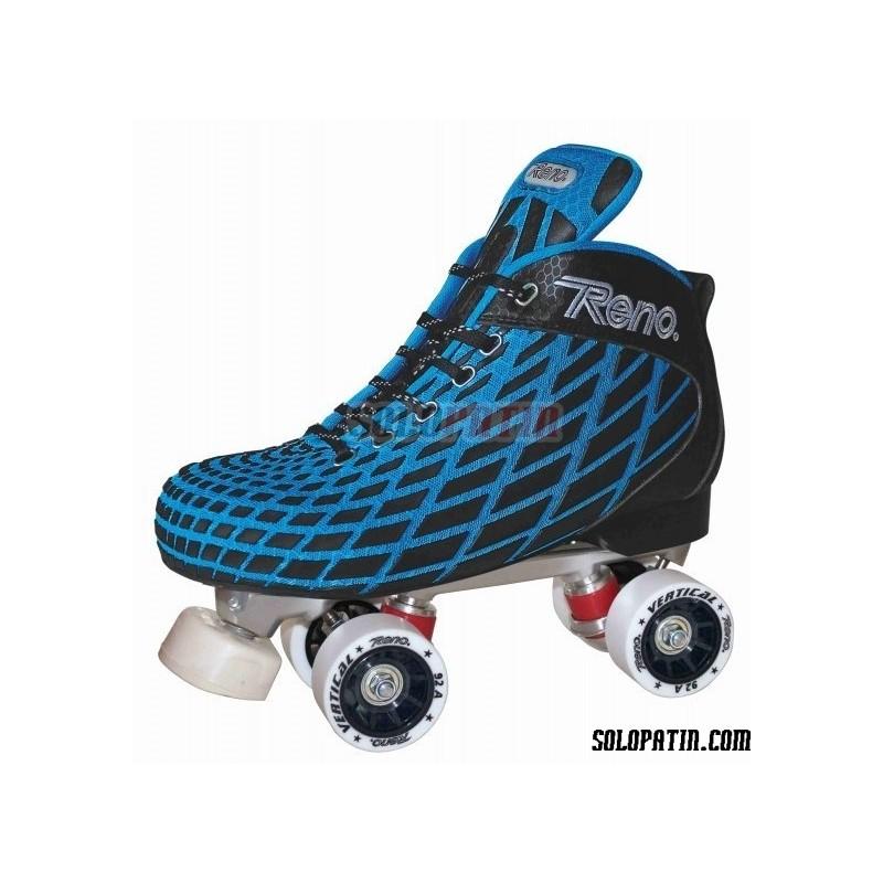Conjunto Hockey Reno Microtec Azul R1 Vertical