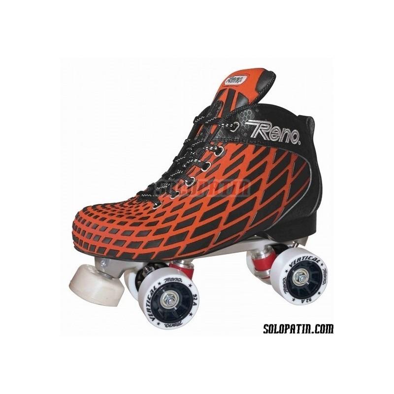 Conjunto Hockey Reno Microtec Naranja R3 Vertical