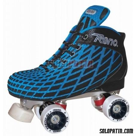Conjunto Hockey Reno Microtec Azul R3 Vertical
