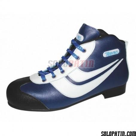 Patines Hockey Reno Amateur Azul Blanco R1