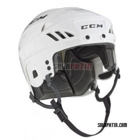 Rollhockey Helm CCM FL 40 WEISS