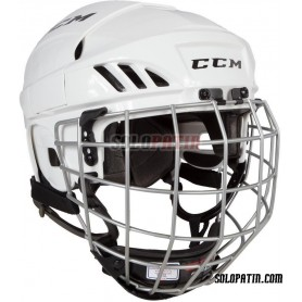 Casco Hockey CCM FL 40 COMBO BLANCO