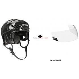 Hockey Helmet CCM FL 40 Hockey Visor CCM 1C