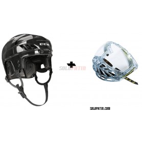 Casque Hockey CCM FL 40 VISIÈRE Fischer