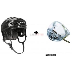 Rollhockey Helm CCM FL 40 VISOR Fischer