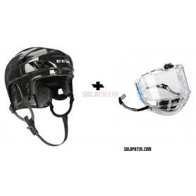Rollhockey Helm CCM FL 40 VISOR Bauer CONCEPT III