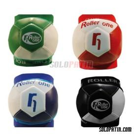 Rodilleras Hockey ROLLER ONE SOFT ONE BLANCO / VERDE