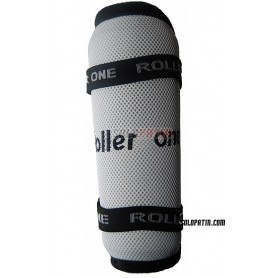 Shin Pads ROLLER ONE PRO-ONE WHITE / BLACK