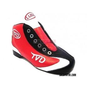Conjunto Patines Hockey TVD LUSA TITAN I ROJO