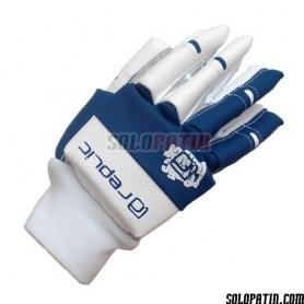 Hockey Gloves Replic Mini Blue / White