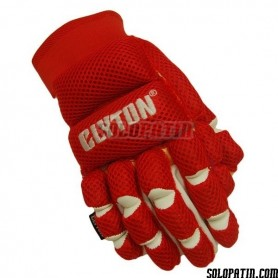 Guantes Clyton Mesh Rojo