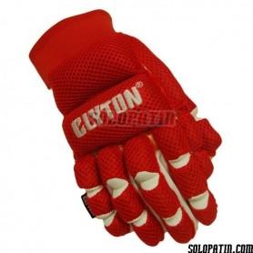 Handshuhe Clyton Mesh Rot