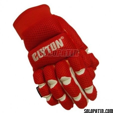 Gloves Clyton Mesh Red