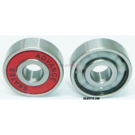 Skate Bearings Advance ABEC 9 CERAMIC Red