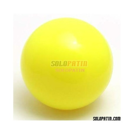 Bola Hockey Solopatin KID Amarillo Fluor