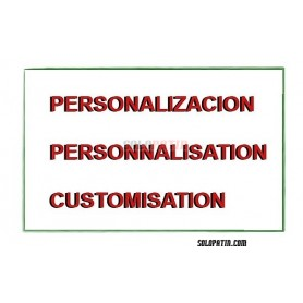 Personalisierung Trolleys - Rucksäcke
