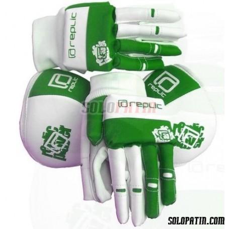 Pack Hockey Replic Mini 2 Piezas Verde / Blanco