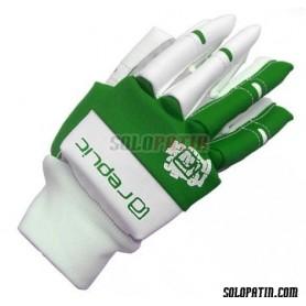 Hockey Gloves Replic Mini Green / White