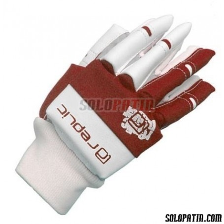 Guantes Hockey Replic Mini Rojo / Blanco