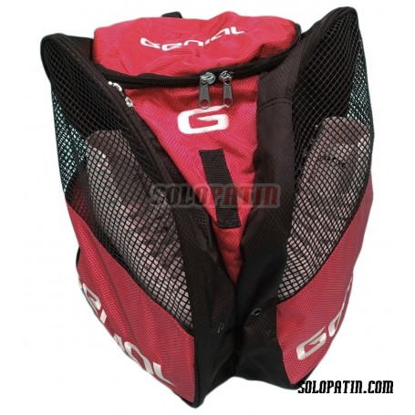 Skating Backpack Genial Red