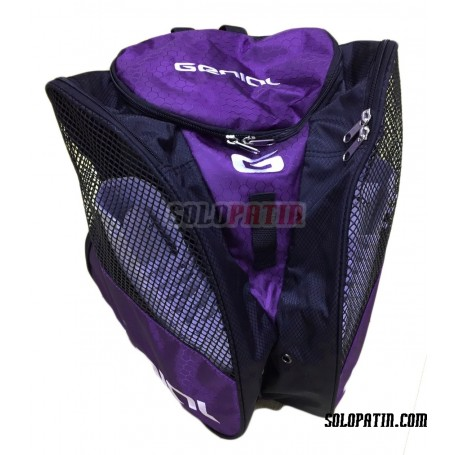 Mochila Portapatines Genial Púrpura
