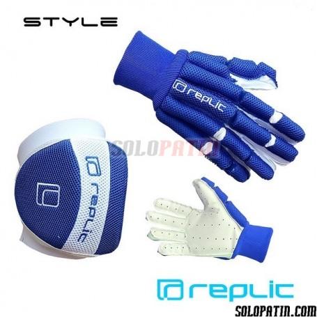 Pack Hockey Replic STYLE 2 piezas Azul