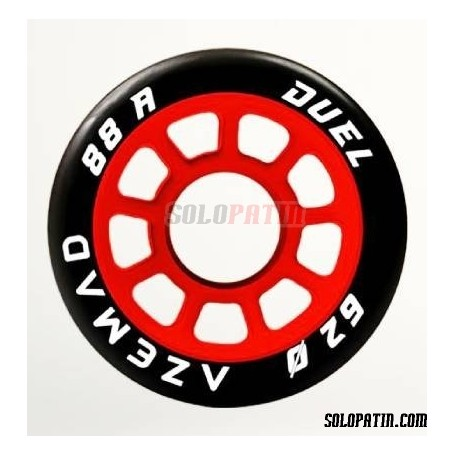 Hockey Wheels Azemad Duel 88A