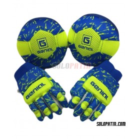 Pack Initiation Genial MAX 2 Pieces Blue Yellow fluor