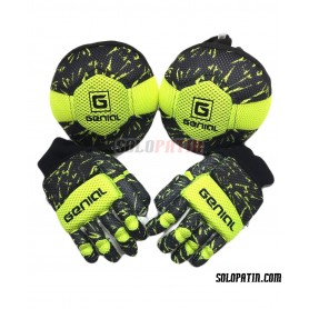 Pack Initiation Genial MAX 2 Pieces Black Yellow Fluor