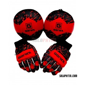 Pack Initiation Genial MAX 2 Pieces Black Red