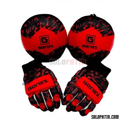 Pack Iniciación Genial MAX 2 Piezas Negro Rojo