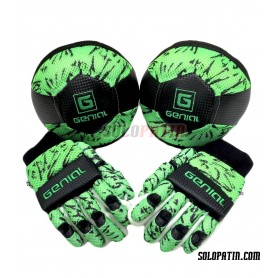 Pack Initiation Genial MAX 2 Pieces Green Fluor Black