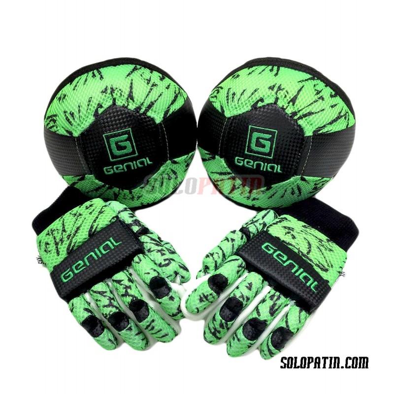 Pack Iniciación Genial MAX 2 Piezas Verde Fluor Negro