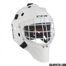 Rollhockey Maske CCM GF 7000 WEISS