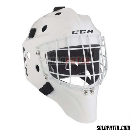 Máscara Hockey CCM GF 7000 BLANCO