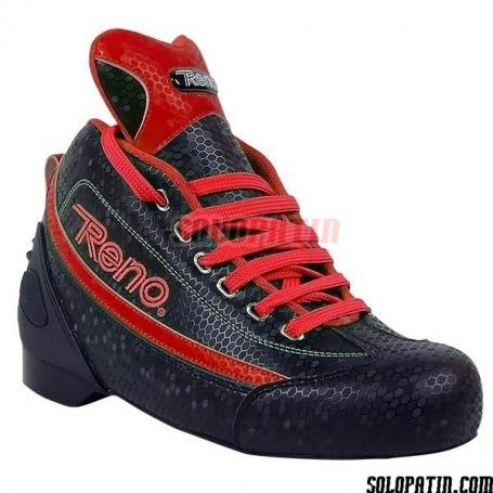 Rollhockey Schuhe Reno BEECOMB Rot