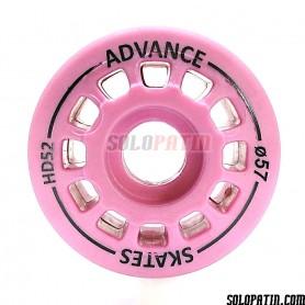 Artistic Skating Wheels Advance Skates Pink HD52