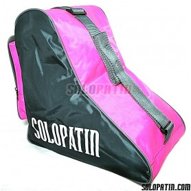 CUSTOMISED Solopatin FUCHSIA shoulder bag