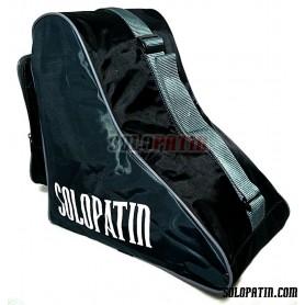 CUSTOMISED Solopatin BLACK shoulder bag