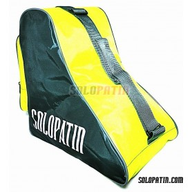 CUSTOMISED Solopatin YELLOW FLUOR shoulder bag