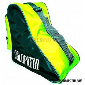 CUSTOMISED Solopatin GREEN FLUOR shoulder bag