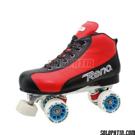 Patins Complets Hockey Reno Milenium Plus III Rouge Noir R2 Vertical
