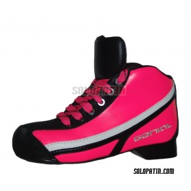 Hockey Boots Genial MAX Pink Fluor