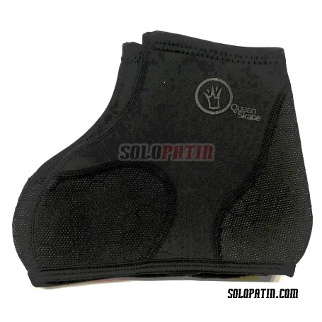 Copripattini Nero NEOPRENE QueenSkate