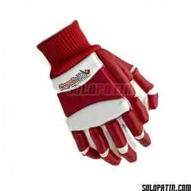 Gloves Segundo Palo Retro Red White