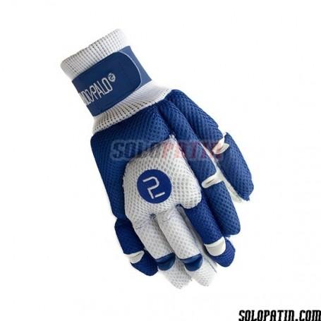 Handshuhe Segundo Palo Mesh Blau Weiss
