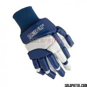 Handshuhe Segundo Palo Classic Blau Weiss